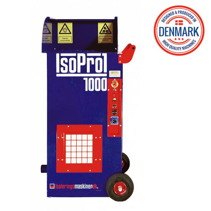 Birios siltinimo izoliacijos putimo masina profesionaliam naudojimui Isolerings Maskinen IsoPro 1000
